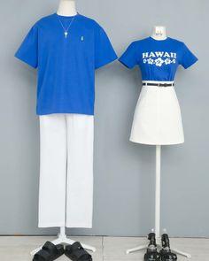 Fashion Drawing Dresses, Korean Fashion Dress, Korean Dress, Korean Outfits, Fashion Couple, Teen Fashion Outfits, Cool Outfits, Matching Couple Outfits, Jugend Mode Outfits
