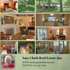 SOLD>583 Sleepy Hollow Alexander City, AL Classic stately brick 2-level in area's quiet,private Sleepy Hollow. Updated, modernized to perfection. Original hardwood floors,ornate crown moldings & trim detail. Formal dining & living, separate cozy/comfy den. 2 fireplaces. Master BR on main level,3 guest BRs on upper level.New screen porch is perfect ''nesting spot''. Large PARK-LIKE backyard is privacy-fenced. Has amazing gazebos, koi pond, fountain and bridge. Amy Clark Real Estate, Inc.