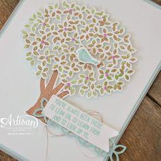 Stampin' Dolce: Sneak peek! Thoughtful Branches - Artisan Design Team Blog Hop!