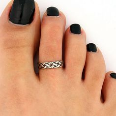 More than sellers offering you a vibrant collection of fashion, collectibles, home decor, and more. Pretty Toe Nails, Cute Toe Nails, Cute Toes, Pretty Toes, Toe Ring Designs, Small Gold Hoop Earrings, Silver Toe Rings, Beautiful Toes, Burgundy Nails