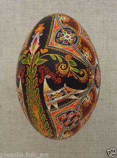 Ukrainian Pysanka Easter Egg by Oleh K GOOSE