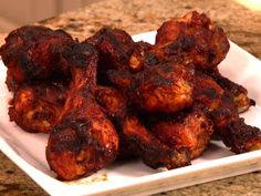 Cherry BBQ Chicken Drumsticks from Patrick and Gina Neely