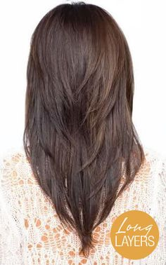 Long Hair with Layers | Summer Hairstyles for Long Hair | We ♥ Long Layers