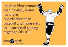 Why hockey is better than your sport. Flyers Hockey, Hockey Memes, Hockey Quotes, Blackhawks Hockey, Hockey Players, Funny Hockey, Chicago Blackhawks, Caps Hockey, Montreal Canadiens