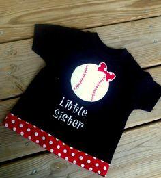 Baseball Softball Little Sister