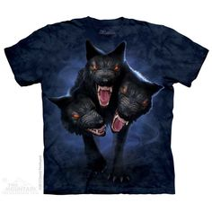 Cerberus T-Shirt $22.00 Use code: NWC15 for 15% off. The Mountain T-shirts.
