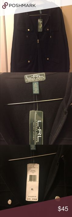 Ralph Lauren new with tags active sweater Brand new woman Ralph Lauren sweater   Size XL   This is a zipper up sweater any questions feel free to send me a comment Ralph Lauren Sweaters