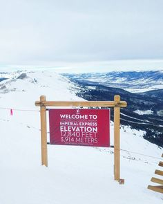 Literally on top of the world. While there are higher ski lifts in China and India Breckenridge holds the title for world's third highest ski lift with grace. Can't really beat the views. (via Instagram)
