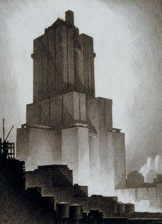 Hugh Ferriss – was an American delineator (one who creates drawings and sketches of buildings) and architect.