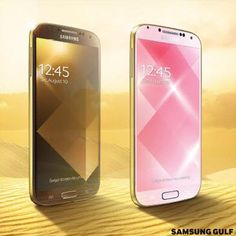 Samsung unveils Gold Pink and Gold Brown Galaxy S4 phones in Dubai