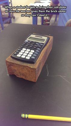 I Present To You The Brickulator