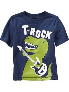 """""""T-Rock"""" Tees for Baby"""