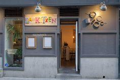 La Kitxen. Hartzenbusch, 8 Madrid, Garage Doors, Gallery Wall, Outdoor Decor, Home Decor, Tents, Restaurants, Window Displays, Spaces