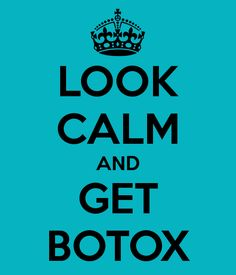 LOOK CALM AND GET BOTOX! Luxury Med Spa in Farmington Hills, MI is a GREAT place to pamper yourself! Call (248) 855-0900 to schedule an appointment or visit our website medicalandspa.com for more information!