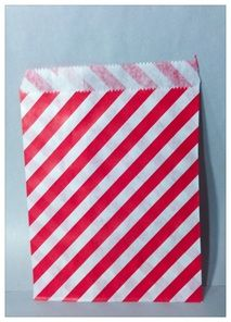 Diagonal carnival striped candy bags.   - Jilly Bean Kids www.jillybeankids.com