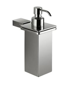 Nameek's Kansas Soap Dispenser With Stainless Steel Container, Chrome
