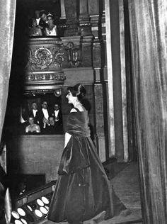 Maria Callas, La Divina. Concerto em 1958 no Palais Garnier, Paris.