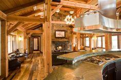 Custom Woodhouse Reclaimed Douglas Fir Frame