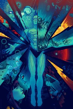 Kevin Tong's Watchmen Poster  (Artist Copies Onsale Info)