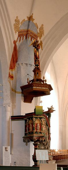 Varel, Schloßkirche St. Peter, pulpit
