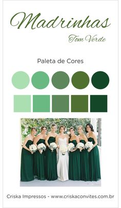 Emerald Wedding Theme, Green Wedding, Wedding Colors, Bridesmaid Proposal, Wedding Bridesmaids, Mixed Bridesmaid Dresses, Wedding Fonts, Sister Wedding, Marie