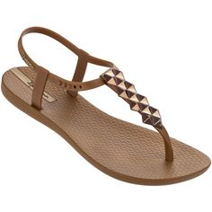 9cb8fdc0e12d Ipanema Sandals Flip-flops - Ipanema Charm Ii Sandal Beige bronze ( 32)
