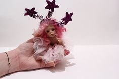 OOAK Your Lucky Charm for 2016  The New Year's Elf by by malga1605
