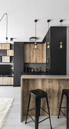 Imposing Modern Industrial Interior Design Kitchen ,Even you may change your kitchen to provide an industrial kitchen feel to it. Kitchen Renovation As the kitchen is easily the most significant and the. Industrial Kitchen Design, Industrial House, Modern Kitchen Design, Interior Design Kitchen, Modern Industrial Decor, Rustic Industrial Kitchens, Rustic Industrial Bedroom, Industrial Style Furniture, Industrial Flooring