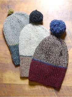 Quick Knits for the Guys : Guys get a reputation of being hard to knit for. It has been my experience that they are rather selective about what they will actually wear, but that makes it that much more satisfying when you kn… Easy Knit Hat, Knit Hat For Men, Hats For Men, Knitted Hats, Knitting Patterns Free, Knit Patterns, Free Pattern, Knit Crochet, Crochet Hats