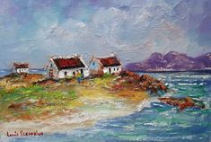 Fishermans Cottage, Kinds Of Music, Survival Guide, Painting, Art, Art Background, Painting Art, Kunst, Paintings