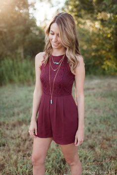 Stunning and stylish romper | Rompers | |fashionable Rompers | | Jumpsuit | #Jumpsuit #Rompers  https://www.loveandspring.com/