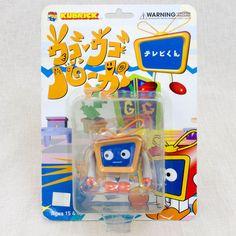 Kubrick Ugo Ugo Ruga TV-kun Figure Medicom Toy Fuji TV JAPAN ANIME #MedicomToy