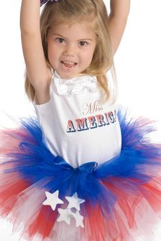 too darn cute...i see red/white/blue tutus in my girls future hair-bows-and-tutus