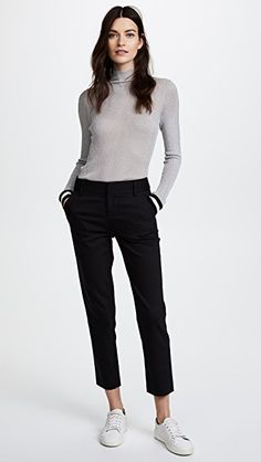 50 Perfect Work Outfit Inspiration for Women - Fashion Feed Business Casual Outfits For Women, Casual Work Outfits, Office Outfits, Work Attire, Work Casual, Business Casual Sneakers, Stylish Outfits, Girl Outfits, Black Outfits
