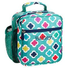 Gear-Up Preppy Geo Classic Lunch With Mesh Side Pocket #pbteen