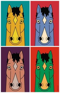 ryankallok: bojackhorseman Some Bojack pop art I made tonight Pop Art, Will Arnett, Bojack Horseman, San Diego Comic Con, Poster Wall, Art Inspo, Illustration Art, Sketches, Fandom