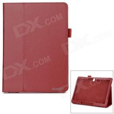 Stylish Flip Open Case w/ Stand for 10.5'' Samsung Galaxy Tab S T800 / 801 / 805 - Red Price: $9.81
