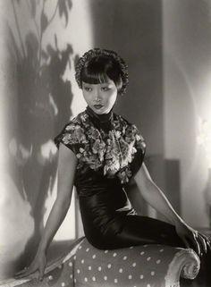 ¤ Anna May Wong 1933