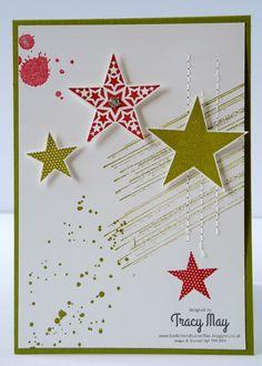 Saturday, 27 July 2013Stars & Stripes ( ok Stitching really, not stripes): Gorgeous Grunge, Simply Stars