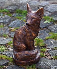Look at this #zulilyfind! Fox Statue #zulilyfinds