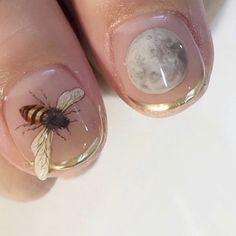 𝙿𝙰𝚅𝙻𝚇𝚅𝙴 ( 🔮 ) Cute Nails, Pretty Nails, My Nails, Hair And Nails, You Nailed It, Nail Inspo, Makeup Inspo, Beauty Nails, Hair Beauty