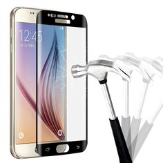 360 Degree 3D Cover High Clear Toughened Tempered Glass Screen Protector For Samsung Galaxy S6 Edge/S6 Edge Plus/S7 edge * View the item in details by clicking the VISIT button