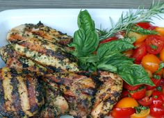 Fresh herbs, three bricks, one cookbook (Recipe: brick-grilled chicken thighs) - The Perfect Pantry®
