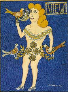 Morris Hirshfield (1872-1946) was a self-taught artist born in Poland, immigrated to the United States when he was eighteen, settling in New York City. He began painting at the age of 65 and continued until his death at 74, after years of working as a labourer and running his own business with his brother, producing coats and slippers. He became one of the prominent folk artists of the 20th century. #MorrisHirshfield #folkart #outsiderart #folkartist