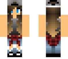 minecraft tomboy girl skins - Google Search