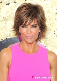 Lisa Rinna Hairstyle : Simple Hairstyle Ideas For Women and Man Short Hair Syles, Prom Hairstyles For Short Hair, Shag Hairstyles, Celebrity Hairstyles, Short Hair Cuts, Glamorous Hairstyles, Short Hair Back View, Short Hair With Layers, Stylish Ponytail