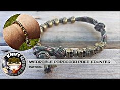 How to Make & Use a Paracord Pace Counter Bracelet - YouTube
