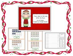 "Here's a Christmas themed ""write the room"" activity. This one focuses on teen numbers and can be paired with THERE WAS AN OLD LADY WHO SWALLOWED A BELL by Lucille Calandro."