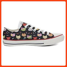 Converse All Star Customized - personalisierte Schuhe (Handwerk Produkt  customized)My Little Kitten size