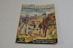 Miller Stockman 1949 Vintage Catalog Magazine No. 80 Fall Winter Denver 1188-5
